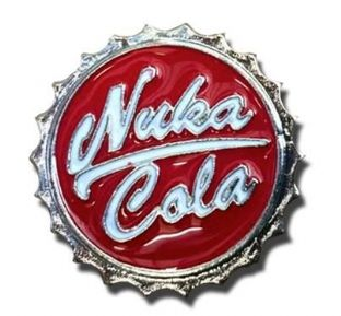 Fallout 'Nuka Cola' Pin Badge